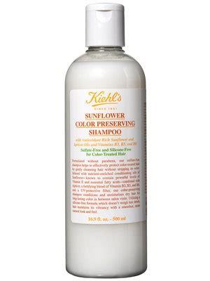 Kiehl's Sunflower Color Preserving Shampoo Review   Allure