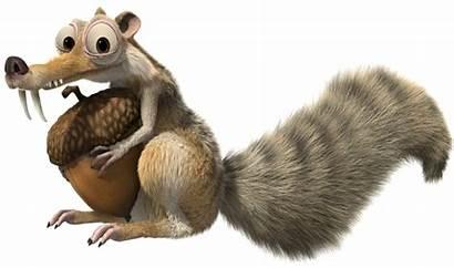 Scrat Ice Age Squirrel Sid Prehistoric Acorn