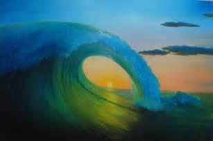 Perfect Wave Sunset
