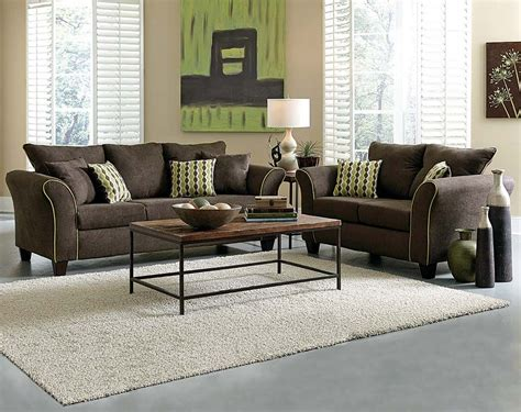 Chocolate Brown Sofa And Loveseat by Chocolate Brown Sofa And Loveseat Chocolate Sofa Living