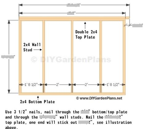 Saltbox Shed Plans 2 To Consider by Naumi 6 X 10 Shed Plans 6 X 8