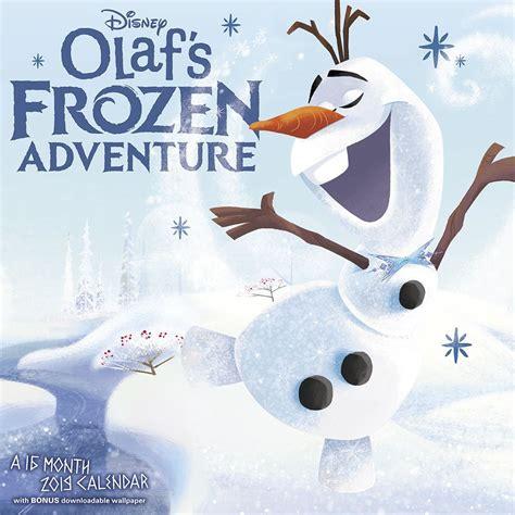 Olafs Frozen Adventure 2019 Wall Calendar