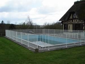 Cloture Souple Piscine : cl tures pour piscine et s curit enfant norme et ~ Edinachiropracticcenter.com Idées de Décoration