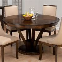 expandable dining table Dining Room: Excellent Dining Room Design With Round Expandable Dining Table, Tuscan dining ...