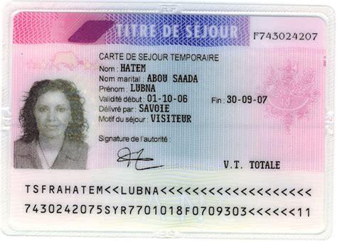 Renouvellement Titre De Sejour Parent D Un Français la carte de sejour visiteur
