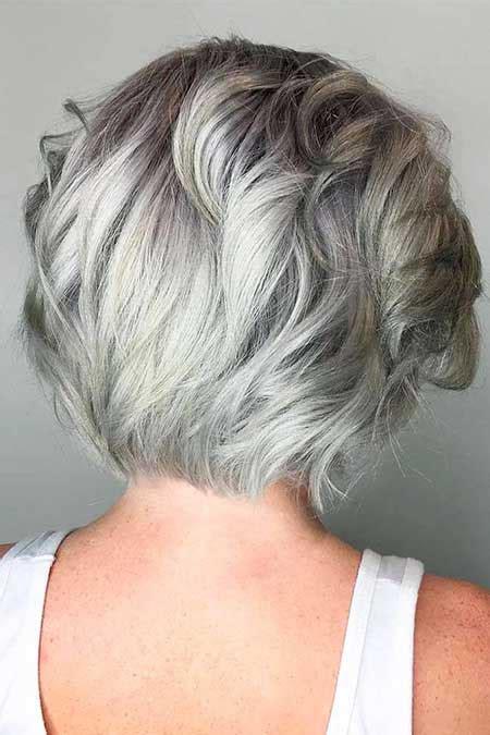 pics  gray haircuts hairstyles