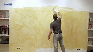 Effekt Farbe Streichen : effektmalen wischtechnik so geht 39 s youtube ~ Markanthonyermac.com Haus und Dekorationen