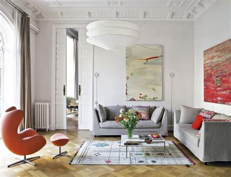 culture clash  stylish barcelona apartment archiscene
