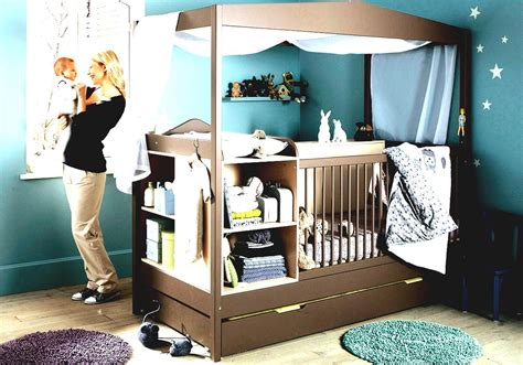 kinderzimmer dekorieren modern baby boy nursery with white drawers and mini sofa set and glass window with blind also