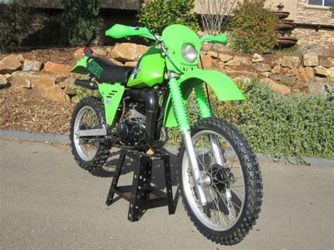 Kawasaki Kdx175 Enduro Dual Sport Dirt Bike Motorcycle