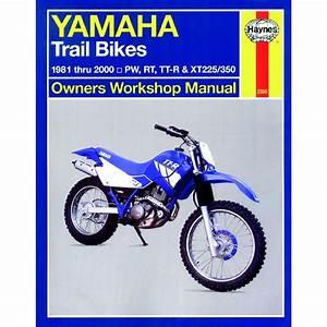 Aw Motorcycle Parts  Haynes Manual 2350 Yamaha Trail Bikes