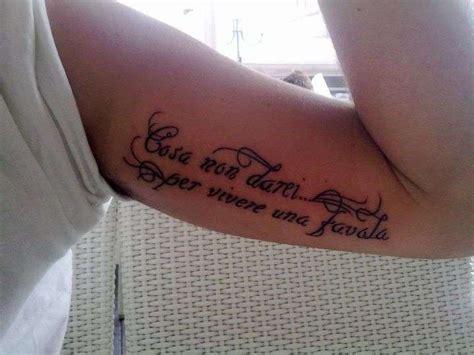 Tatuaggio Vasco by Tatuaggi Con Le Frasi Delle Canzoni Di Vasco I Pi 249 Belli
