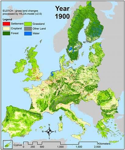Europe Than Map Ago European Maps Historical