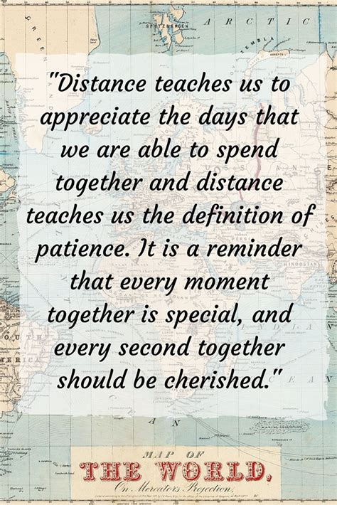 inspiring long distance relationship quotes  love