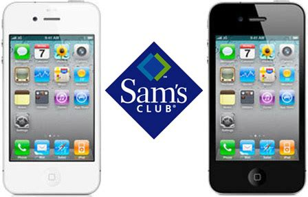 sams club iphone deal sam s club offers iphone 4 for 147