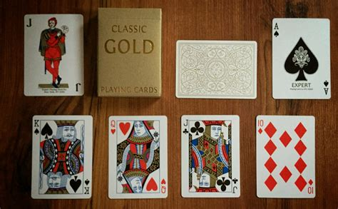Maybe you would like to learn more about one of these? Deck View: Classic Gold Playing Cards - Kardify