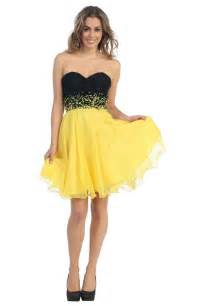 robe jaune pour mariage robes de mariage robes de soirée et décoration robe de soirée jaune courte