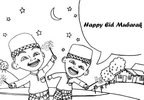eid mubarak coloring pages eid mubarak coloring pages