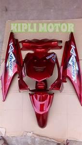 Jual Beli Full Bodi Honda Beat Karbu Lama Warna Merah