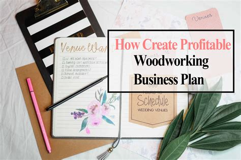 create  profitable woodworking business plan