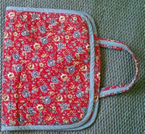 Cross stitch / embroidery project bag   Cross stitch