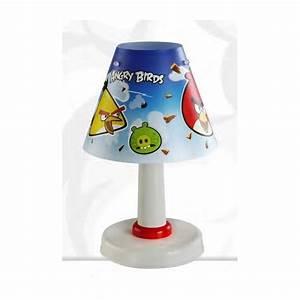 Lampe Chevet Enfant : lampe de chevet pour enfant pas cher angry birds ~ Teatrodelosmanantiales.com Idées de Décoration