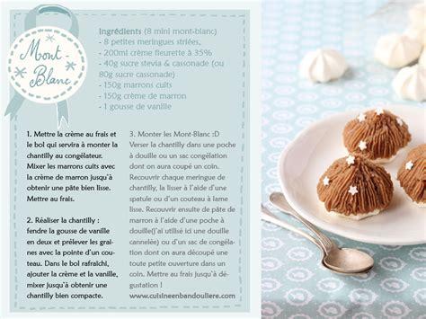 mont blanc dessert recette