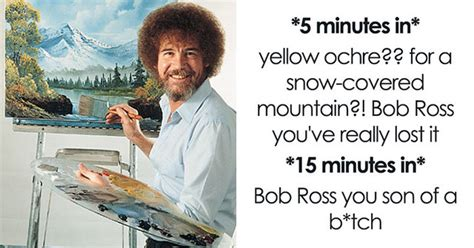 25+ Bob Ross Memes That Show He Truly Was The Best