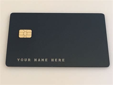order  metal credit card