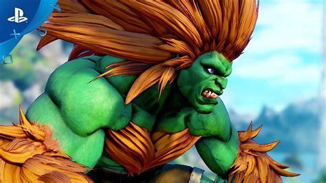 Street Fighter V Arcade Edition Blanka Gameplay Trailer
