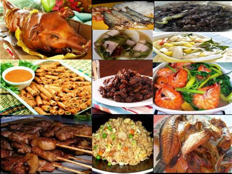 phil cuisine habits hospitality the philippine cuisine
