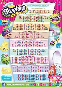 Shopkins Season 1 Collectors Guide Checklist | Party ...