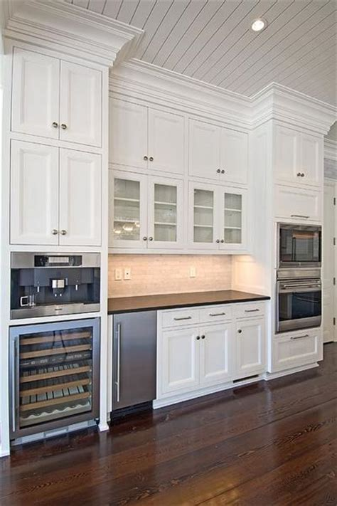 kitchen beadboard ceiling transitional kitchen