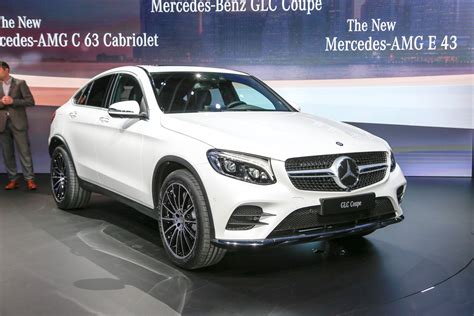 mercedes pickup 2017 mercedes benz launches glc coupe in new york
