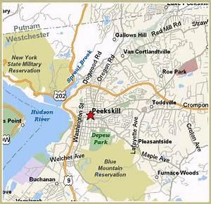 Map Of Peekskill