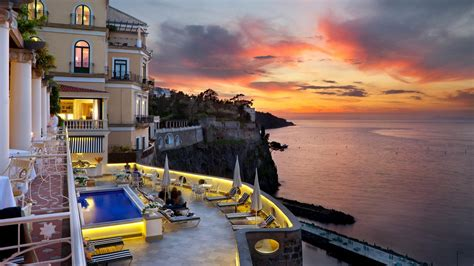 best hotels in italy bellevue syrene wedding sorrento amalfi coast italy