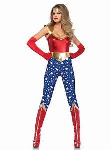 Kostüm Superhelden Damen : sexy wonder woman kost m f r damen 24h versand ~ Frokenaadalensverden.com Haus und Dekorationen