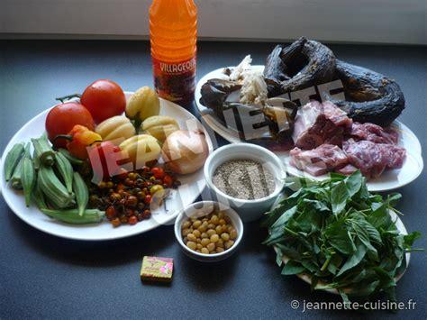 de recette de cuisine familiale la sauce n tro plat africain jeannette cuisine
