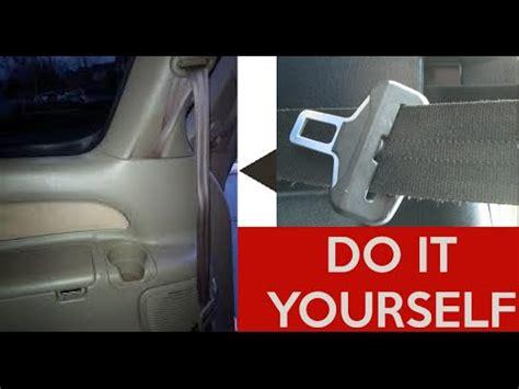fix repair  stuck seatbelt retract seat belt