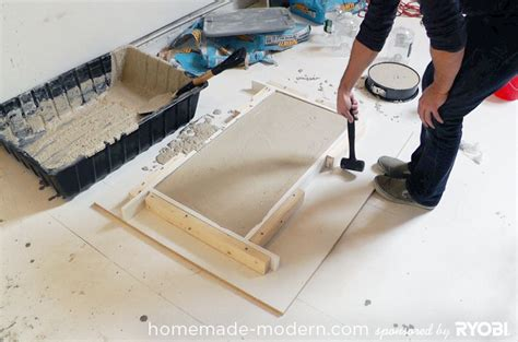 how to make a concrete table pdf plans how to build wood concrete forms download diy
