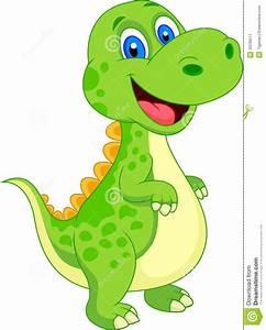 Cute Dinosaur Cartoon Stock Image - Image: 33230511 | Cute ...