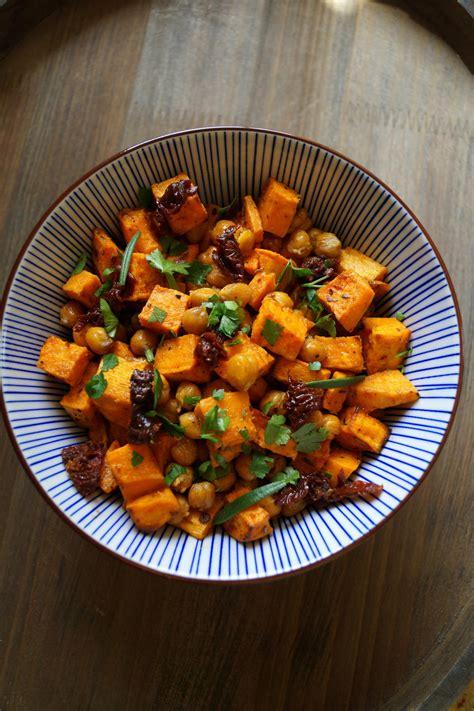 suesskartoffel kichererbsen salat rezept kochbarde