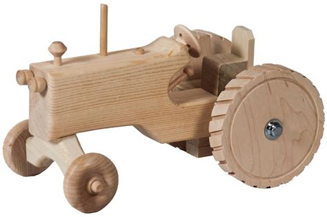 wooden toys amish wooden toy tractor