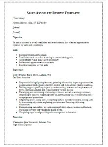 official sales resume template free formal word templates