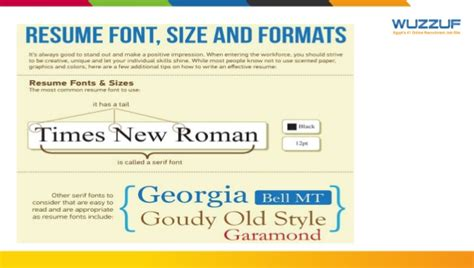 Is Tahoma A Font For Resume by Career Guidance Resume Writing And Skills