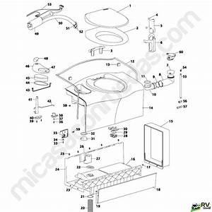 Thetford Toilet Parts Diagram