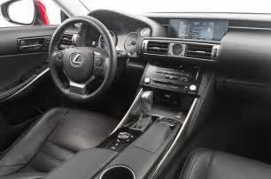 2015 Lexus 250 Interior