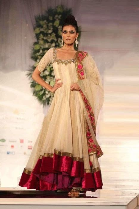 fashion styles stylish anarkali bridal dress