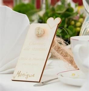 Schuppen Aus Holz : tischkarte platzkarte aus holz zum selbstbeschriften ~ Michelbontemps.com Haus und Dekorationen
