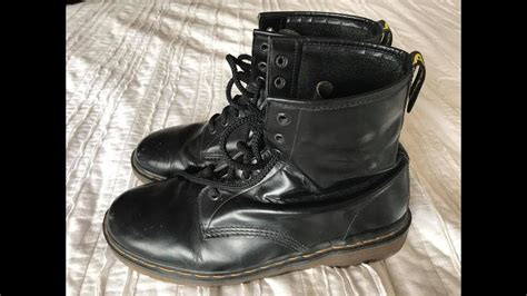 dr martens  vintage   uk  year  boots youtube